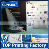 High quality step and repeat banner stand, fabric backdrop stand D-0614                                                                                         Most Popular