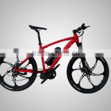 New model lightweight 26'' electric mountain bike with mid drive motor                                                                         Quality Choice