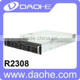 2U 8*2.5''/3.5'' HDD with 500W Power Supply Storage Server Rackmount Chassis