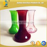 2016 new design 120ml long neck small glass flower vase                                                                         Quality Choice