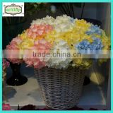33cm high quality mini fabric wholesale artificial hydrangea flowers                                                                         Quality Choice