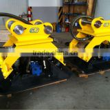 excavator hydraulic quick hitch coupler,Excavator compactor, , hydraulic rotating grapple, hydraulic breaker hammer, Ripper