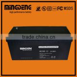 China manufacturer agm 12v 150ah battery/deep cycle/ lead acid/maintenance free for wholesales