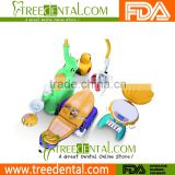 TR-KID-2 Lovely Animal Design Children Dental Chair Unit with Animated Cartoon Player kids dental unit