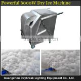 Stage effet dry ice fog smoking machine dry ice smoke 6000w high power suit for all kind middle and big show performance