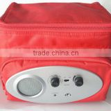 Latest 600D insulating effect cooler bag with radio
