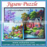 1000 pieces Scenery Of Custom Jigsaw Puzzle