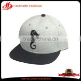 Custom logo 100% cotton soft brand hip-hop for sale breathable bike cycling snapback cap