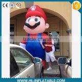 Hot-sale inflatable character replica inflatable super mario