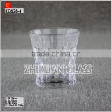 New Products In Market Glass cup/ hot sales design Hand press stock whiskey tumbler Glass cup