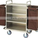 housekeeping carts linen trolley service cart (F-180)