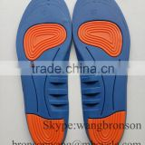 2015 New stytel PU Height Blue Insoles
