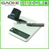Manufacturer of Desktop Visualiser overhead projector OEM ODM usb document camera 2MP education presentation equipment