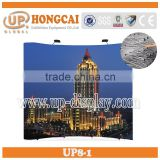market folding pop up display banner stand