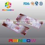 Heat adhesive pet/pvc shrinkable label and sleeves/ roll