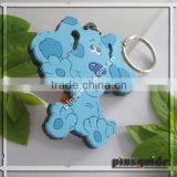 3d Animal Shape Soft Pvc Keychains