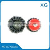 M14x2 Twist knot Stainless steel wire cup brush