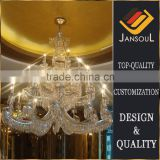 modern k9 stainless steel crystal chandelier for lobby                                                                                                         Supplier's Choice