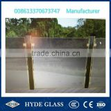 China 15mm tempered swimming pool fence glass panel