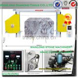 CZSJ-2000A stone block cutting machine for marble and granite- wire saw machine for stone processing