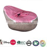 new product outdoor baby bean bag chair with harness/hot pink bean bag chairs