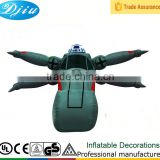 DJ-XT-117 new design custom giant decorative advertising promotional inflatable ufo