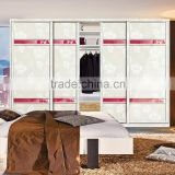 Melamine Board Modern-Style Livingroom Wardrobe Designs bedroom furniture sliding 4 door wardrobe