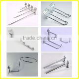 Metal Aluminium Slat Wall Hooks stainless steel display hook                                                                                                         Supplier's Choice