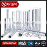 Personalized ISO9001, FDA, IAF, CNAS Certified Round Thin Wall Aluminum Extruded Tube Furniture