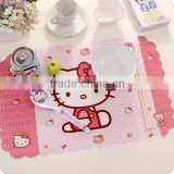 New style customized wholesale paper placemats with high quality
