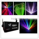 3W SD+TTL Modulation RGB laser light, full color laser light,lighting equipments/free shipping with flight case