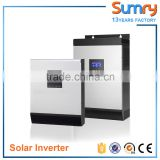 For home solar system 5kva 4000w inverter 48vdc to 220vac with PWM controller hybrid inverter
