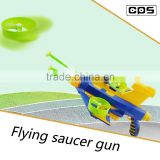 Exciting flying disc gun soft dart gun toy