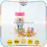Beautiful colorful multi flavored jelly bean nipple bottle candy