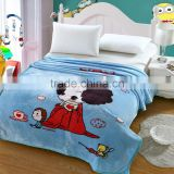 100% Acylic Hemmed Jacquard Airline Fire Resistant Blanket