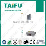China daxi famous brand TAIFU 3inch deep well submersible stainless electric submersible pump