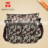 New Arrival Wholesale high density 300D handbag baby diaper bag,mommy bag with changing pad