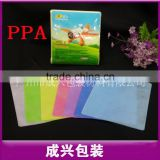 chensin factory cd dvd plastic sleeve clear plastic protective sleeve hard pp non-woven plastic sleeves