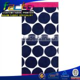 wholesale microfiber custom printed beach towel