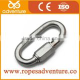 2015 New O shaped climbing karabiner, safety spring karabiner hook, hiking carabiner hook