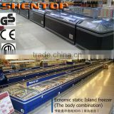 Shentop 2014 Commercial Supermarket Energy-saving Combination Island Freezer Static Cooling STXDG-A4