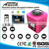 Be Unique !! Go pro Style Waterproof 30M Wifi 360 Degree Action Camera 360 View Car Camera System
