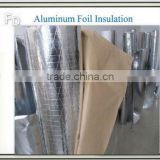 double side aluminum foil backed bubble insulation fiberglass pipe