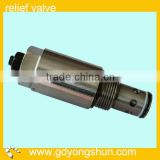 KOBELCO SK230-6E excavator relief valve/valve check LQ15V00007S039 used for travel motor