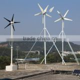 new build-in controller 5 blades small 600w 800w,1200w,1600w wind turbine generator