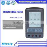 ME2000H railway track circuit signal multiple isolated join tester for trains test and measurement