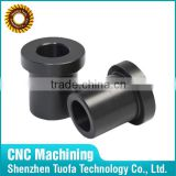 China supplier OEM cnc machining nylon or brass flanged bushing