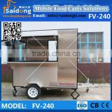 Mobile Attactive Design Coffee Van -Food Vending Van-Ice Cream Truck For Sale