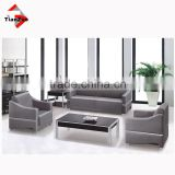 used in office/home furniture real leather sofa