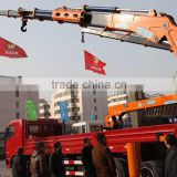 25ton knuckle boom Crane and Accessories,SQ500ZB4, hydraulic truck mounted crane.